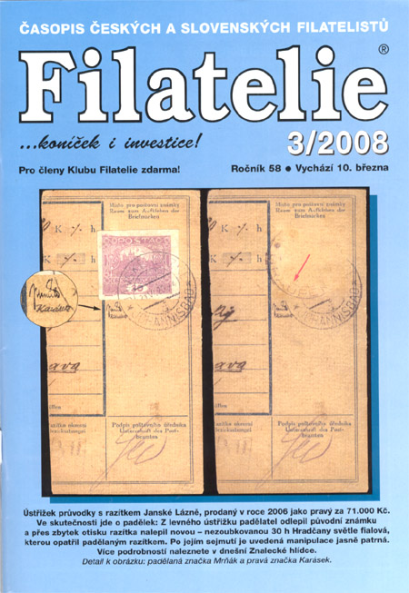 Filatelie 3/2008