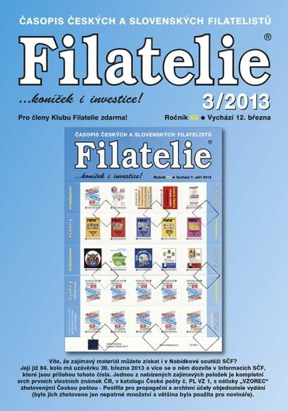 Filatelie 3/2013