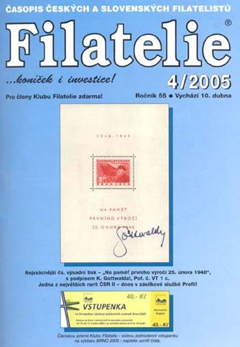 Filatelie 4/2005