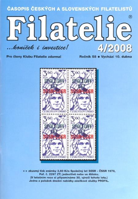 Filatelie 4/2008