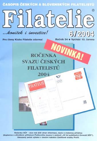 Filatelie 6/2004