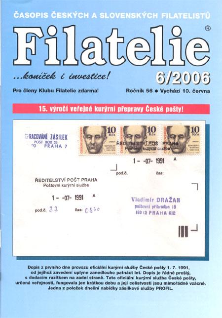 Filatelie 6/2006