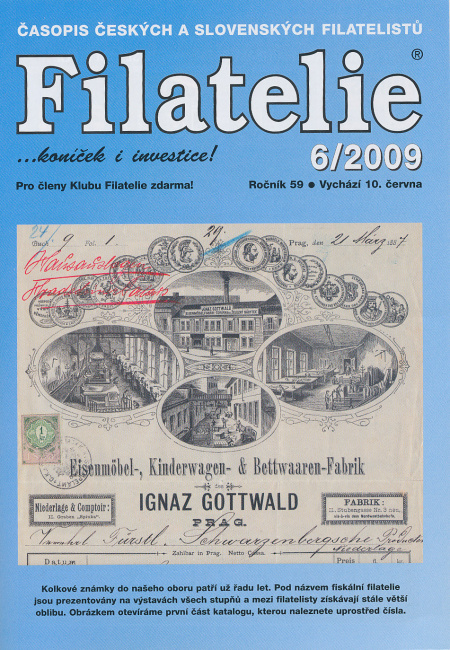 Filatelie 6/2009