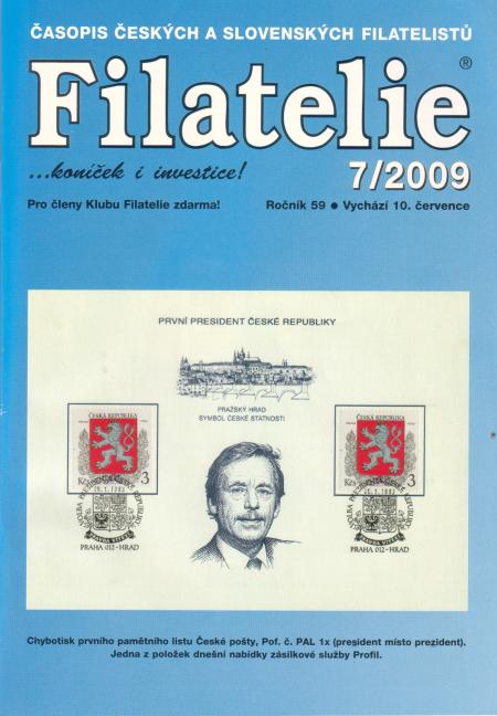 Filatelie 7/2009