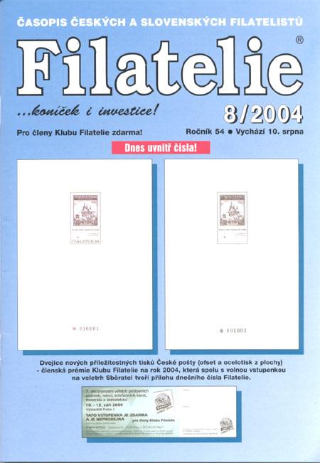 Filatelie 8/2004