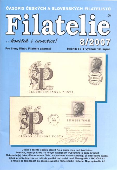 Filatelie 8/2007