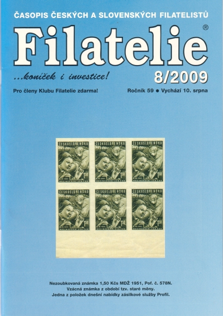 Filatelie 8/2009