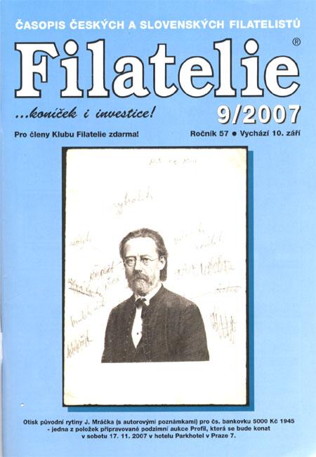 Filatelie 9/2007