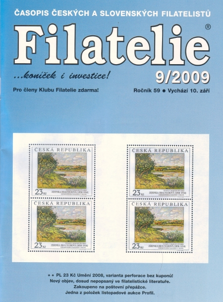 Filatelie 9/2009