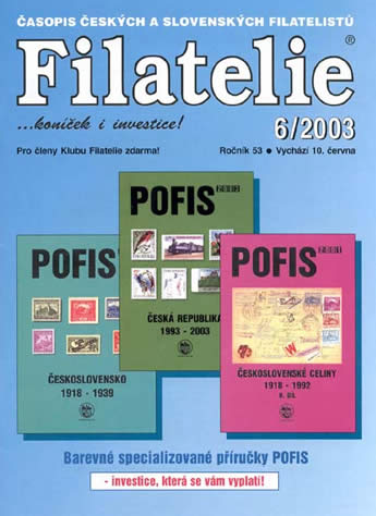 Filatelie číslo 6/2003