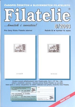Filatelie číslo 8/2003
