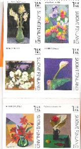 Finsko - obrázy květin