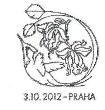 Gratulační motiv - Orchideje A