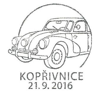 Historické dopravní prostředky - automobil Tatra 87