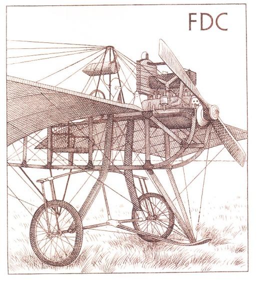 Historické dopravní prostředky - letadlo Metoděje Vlacha