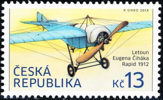 Historické dopravní prostředky - letoun Eugena Čiháka: Rapid, 1912