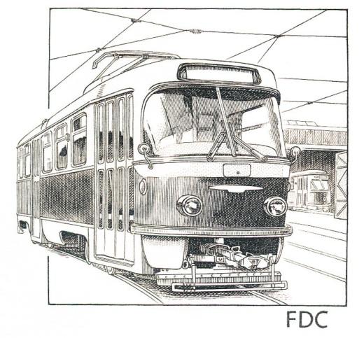 Historické dopravní prostředky - Tramvaj T3