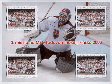 Hokej pohledem filatelie I.