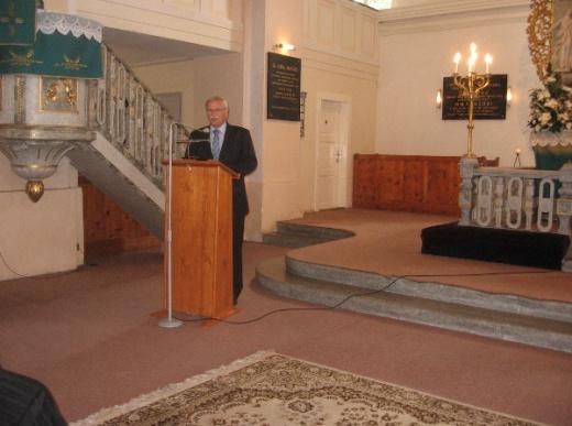 Inaugurácia poštovej známky M. M. Hodža vLiptovskom Mikuláši