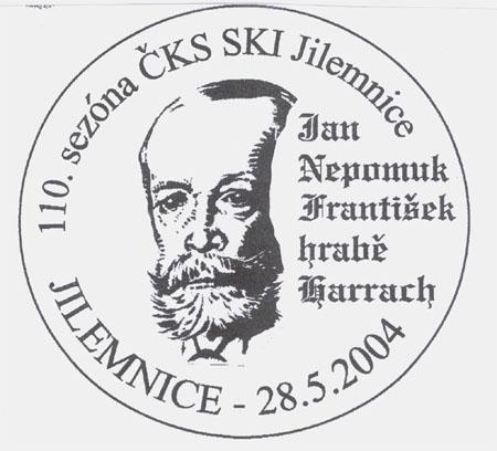 Jilemnice - lyžování a filatelie