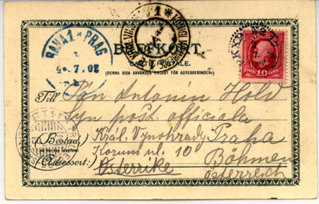 Jízdní řád z roku 1914