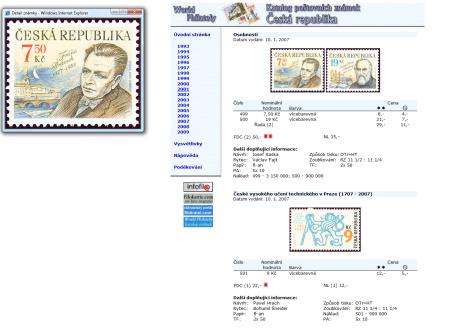 Katalog poštovních známek - Česká republika (1993-2011) - World Philately 2012 - NOVINKA!