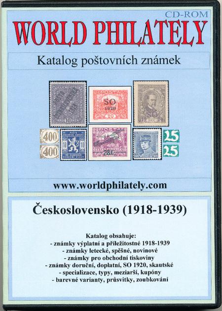 Katalog poštovních známek - Československo (1918-1939) - World Philately 2009 - NOVINKA!