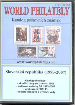 Katalog poštovních známek - Slovenská republika (1993-2007) - World Philately 2008 - NOVINKA!