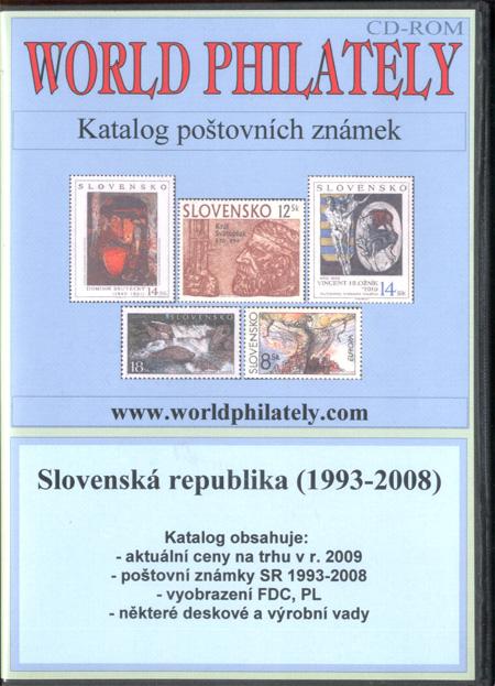 Katalog poštovních známek - Slovenská republika (1993-2008) - World Philately 2009 - NOVINKA!