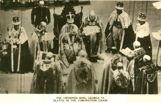 Korunovace krále Jiřího VI. vroce 1937