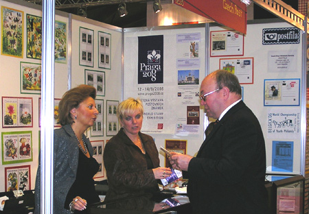 Kosmonaut na výstavě Belgica 2006