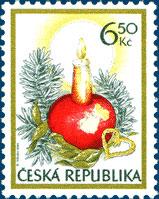 Krása českých vánočních známek