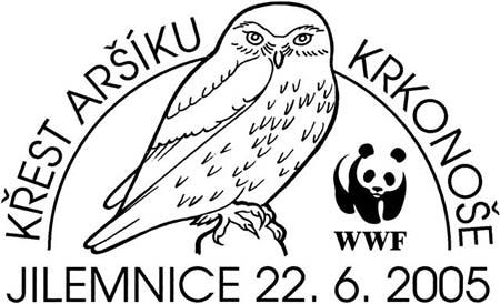Křest aršíku poštovních známek 'Chráněná fauna a flóra Krkonoš'
