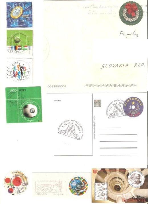 Kruhové známky – nový fenomén pošty?
