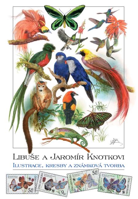 Libuše a Jaromír Knotkovi - výběr z celoživotní tvorby