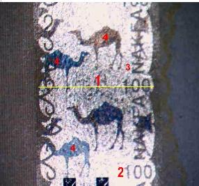 Lupa MacroCam s fotoaparátem – konkretní využití Metalografika na bankovkách - makrometalografika