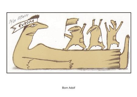Majstri známkovej tvorby netradične - známková pocta karikatúre