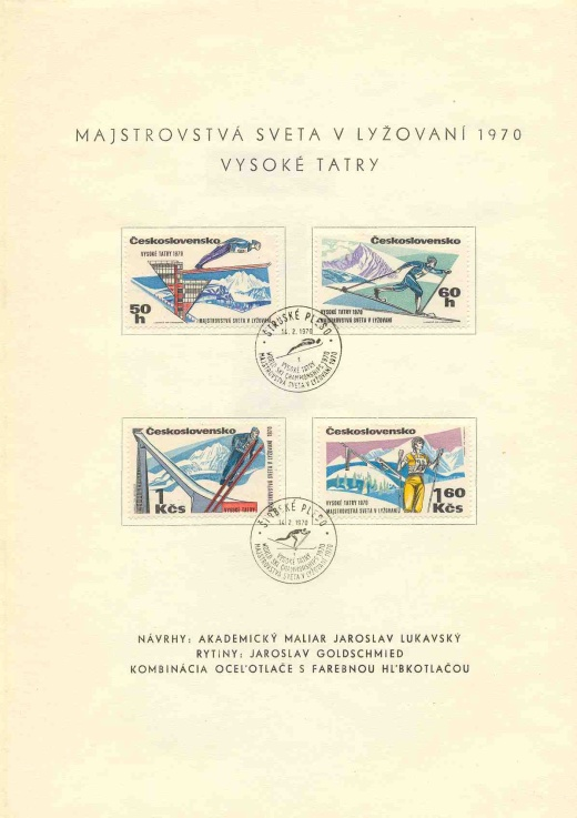 Majstrovstvá sveta v lyžovaní 1970 – Vysoké Tatry