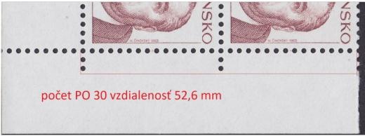 Meranie zúbkovania (perforácie) poštových známok