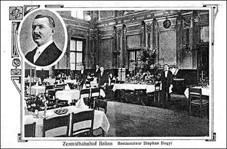Merkur-Revue: Brněnská nádražní restaurace