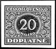 Merkur-Revue: Zaujímavosti na čs. doplatných známkach