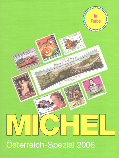MICHEL: Österreich (Rakousko) - specializovaný katalog 2006 - barevný