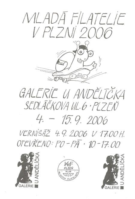 Mladá filatelie v Plzni 2006