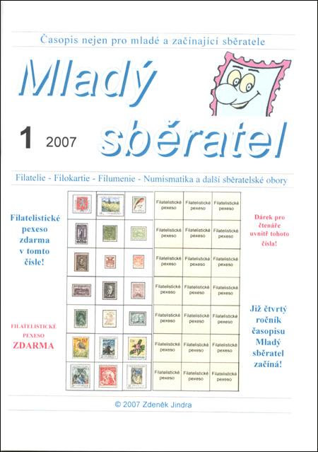 Mladý sběratel 1/2007