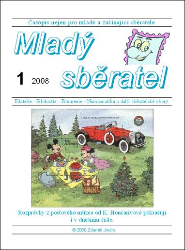 Mladý sběratel 1/2008