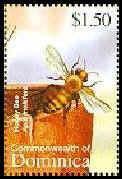 Motív včiel a včelárstva na poštových známkach IV.