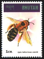 Motív včiel a včelárstva na poštových známkach V.