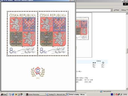 Několik obrázků z připravovaného katalogu World Philately 2004 ČR