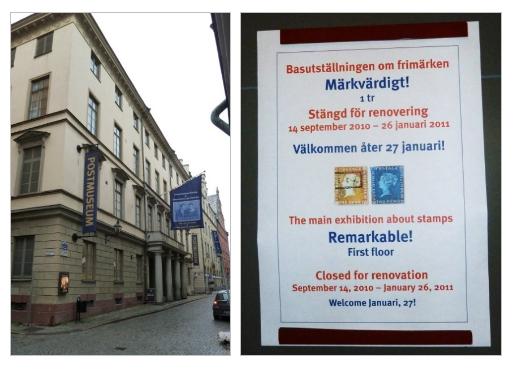 Nezdařená návštěva poštovního muzea?