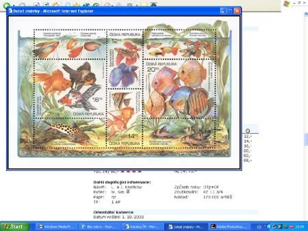 Novinka: CD-ROM World Philately 2005 - Česká republika (1993-2004)